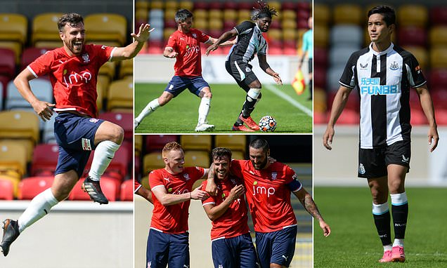 York City 1-0 Newcastle: Magpies begin pre-season with defeat against NON-LEAGUE side